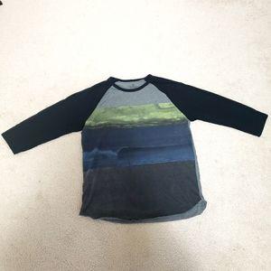 3/$15 Men's AE 3/4 sleeves shirt L